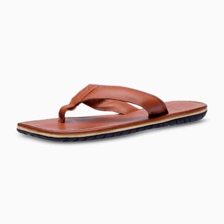 Stan DP Men's Sandals, root beer brown, small-IND