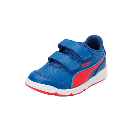 Stepfleex FS SL V PS Kids' Shoes, TRUE BLUE-High Risk Red, small-IND