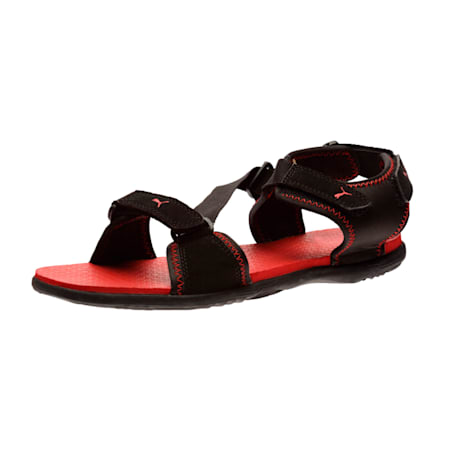 Royal DP Sandals, black-high risk red, small-IND