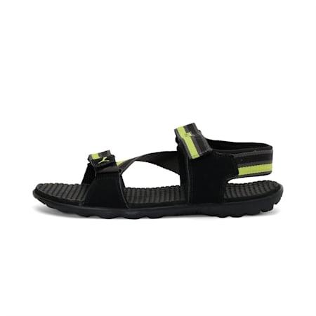 Silicis Mesh DP Sandals, black-darkshadow-limepunch, small-IND
