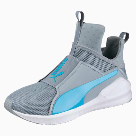 PUMA Fierce Core Training Shoes, Quarry-Blue Atoll, small