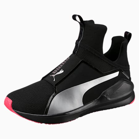 PUMA Fierce Core Training Shoes, Puma Black-Paradise Pink, small