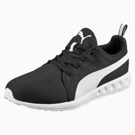 Carson Mesh Men's Running Shoes, Puma Black-Puma White, small-SEA