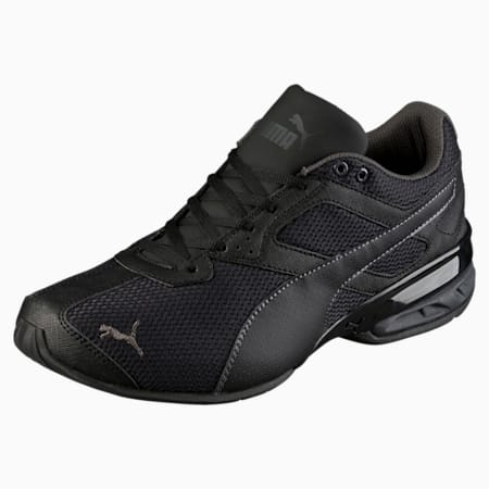 Tazon 6 Mesh Men's Trainers, Puma Black-Asphalt, small