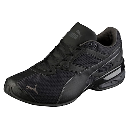 Tazon 6 Mesh Men's Shoes, Puma Black-Asphalt, small-IND