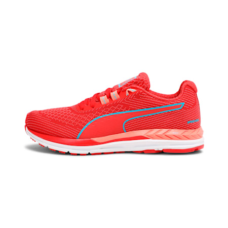 Speed 600 S IGNITE Women's Running Shoes, Poppy Red-Nrgy Turquoise, small-IND