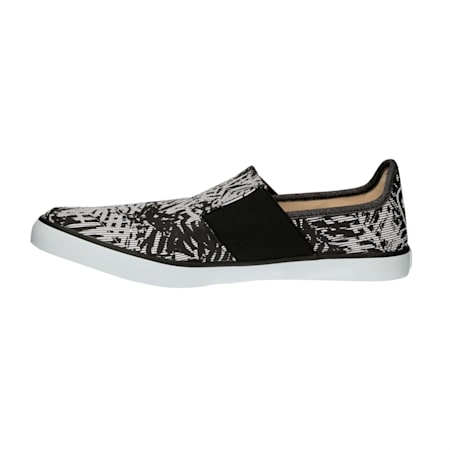 Lazy Slip On Graphic DP, Black-Gray Violet-White, small-IND