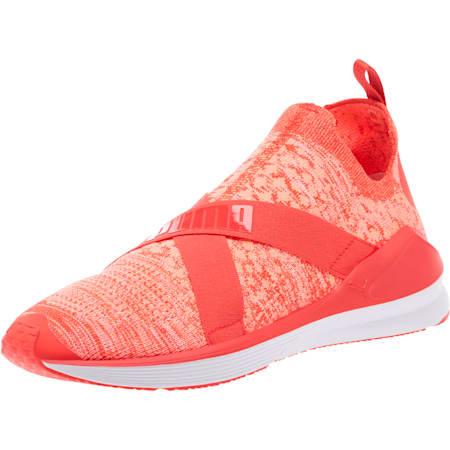 Fierce evoKNIT Women's Training Shoes, Poppy Red-Puma White, small