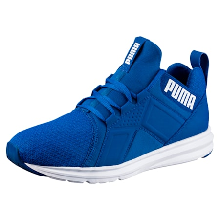 The Enzo Training Shoe, TRUE BLUE, small-IND