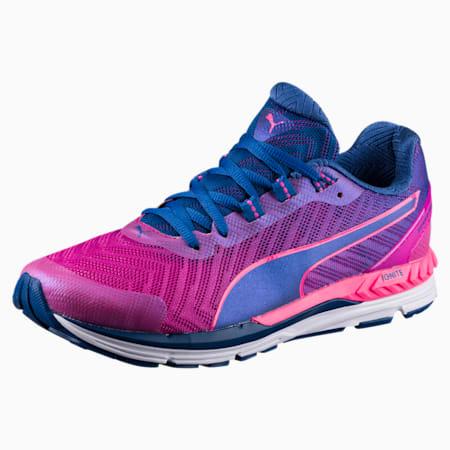 Speed 600 IGNITE 2 Women's Running Shoes, MAGENTA-TRUE BLUE-PINK, small-IND