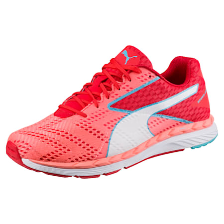 Speed 300 S IGNITE Women's Running Shoes, Poppy Red-Nrgy Peach, small-SEA