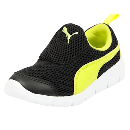 Puma Bao 3 Mesh PS, Puma Black-Nrgy Yellow, small-IND