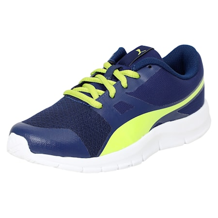 PUMA Flexracer PS IDP, Blue Depths-Nrgy Yellow, small-IND