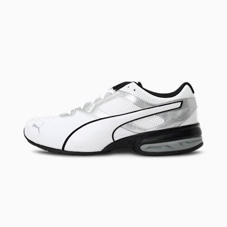 Tazon 6 FM Men's Sneakers, White-puma silver-Black, small