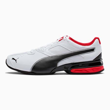 Tazon 6 FM Men's Sneakers, White-Black-puma silver, small