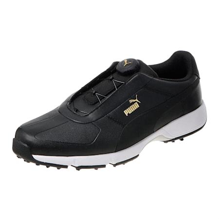 IGNITE Drive DISC Men's Golf Shoes, Black-Black, small-SEA