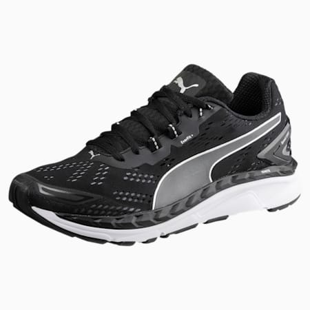 Speed 1000 IGNITE Men's Running Shoes, Black-QUIET SHADE-Silver, small