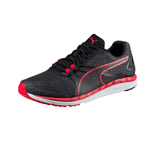 Speed 300 IGNITE 2 Men's Running Shoes, Black-QUIET SHADE-Toreador, small-IND
