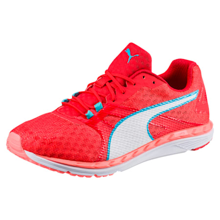 Speed 300 IGNITE 2 Women's Running Shoes, Nrgy Peach-Poppy Red-White, small-IND