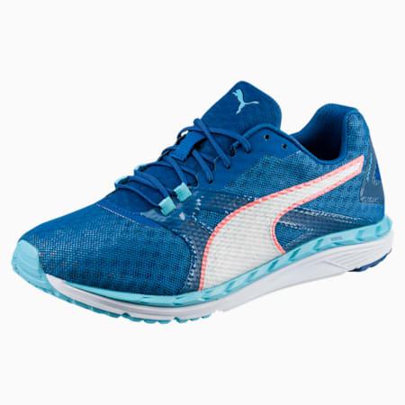 Speed 300 IGNITE 2 Women's Running Shoes, Nrgy Turquoise-Lapis Blue, small-SEA