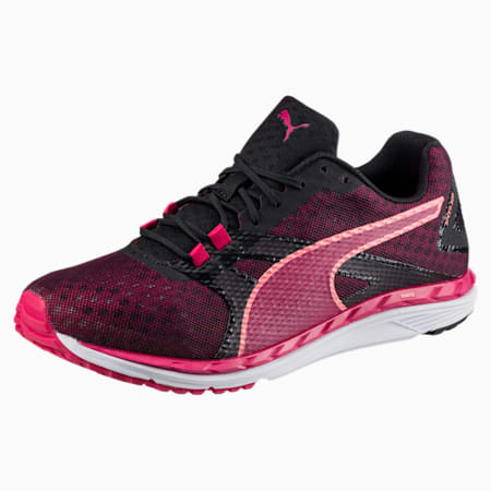 Speed 300 IGNITE 2 Women's Running Shoes, Love Potion-Puma Black, small-IND