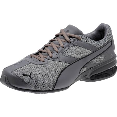 Zapatos deportivos Tazon 6 Knit para hombre, Quarry-QUIET SHADE-Negro, pequeño