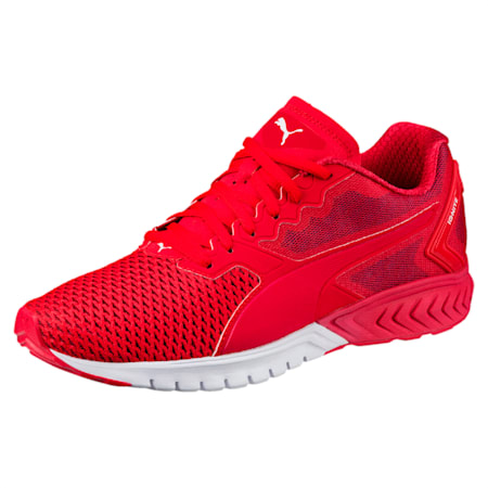 IGNITE Dual Mesh Men's Running Shoes, Toreador-Blue Depths, small-IND