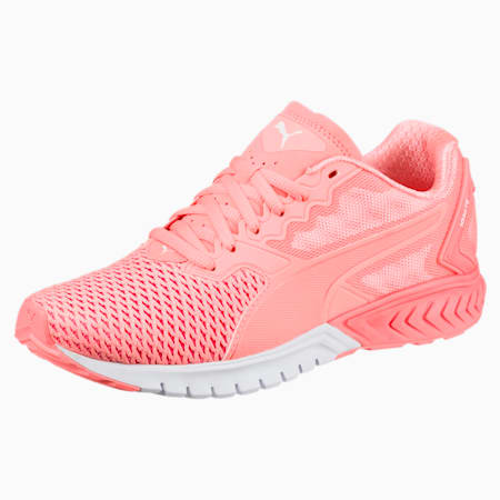 IGNITE Dual Mesh Women's Running Shoes, Nrgy Peach-Puma White, small