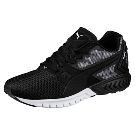 IGNITE Dual Mesh Women's Running Shoes, Puma Black-Puma Black, small-IND