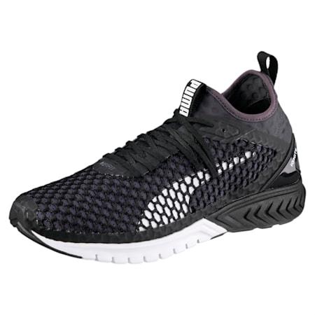 IGNITE Dual NETFIT Men's Running Shoes, Puma Black-QUIET SHADE, small-IND