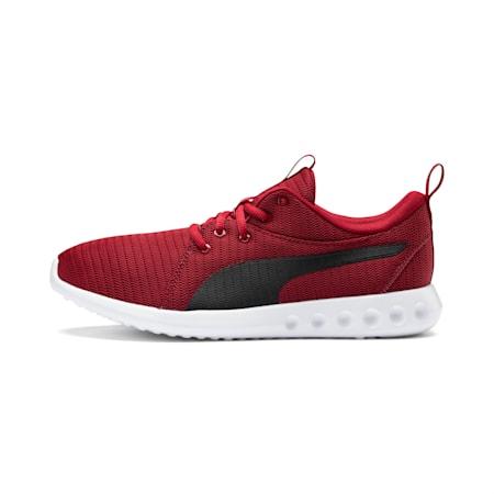 Carson 2 Men's Running Shoes, Red Dahlia-Puma Black, small