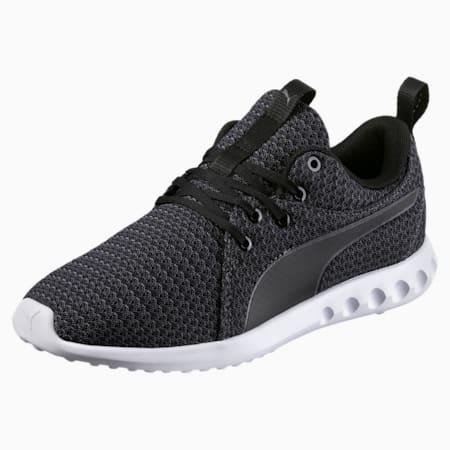 Carson 2 Knit Women's Running Shoes, Puma Black-Periscope, small