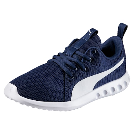 Carson 2 Youth Shoes, Blue Depths-Puma White, small-IND