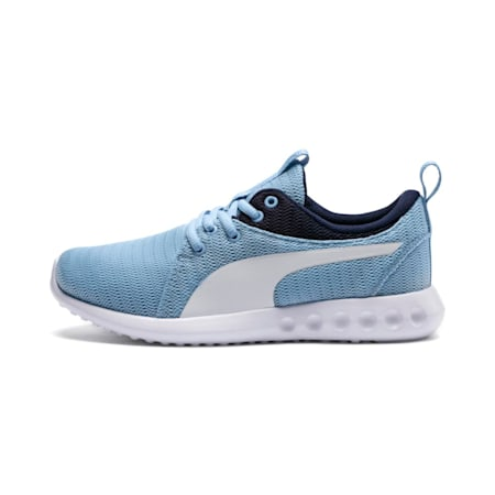 Carson 2 Youth Shoes, CERULEAN-Peacoat-Puma White, small-IND