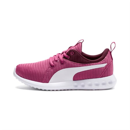 Carson 2 Youth Shoes, Magenta Haze-Fig-Puma White, small-IND