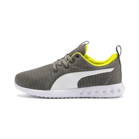 Carson 2 Sneakers JR, CASTLEROCK-Limepunch, small