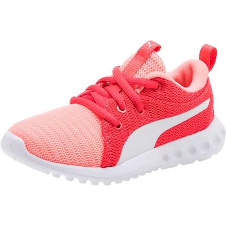 Carson 2 AC Little Kids' Shoes, Soft Fluo Peach-Puma White, small
