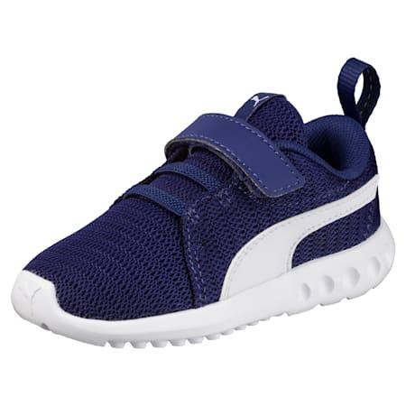 Carson 2 V Baby Trainers, Blue Depths-Puma White, small