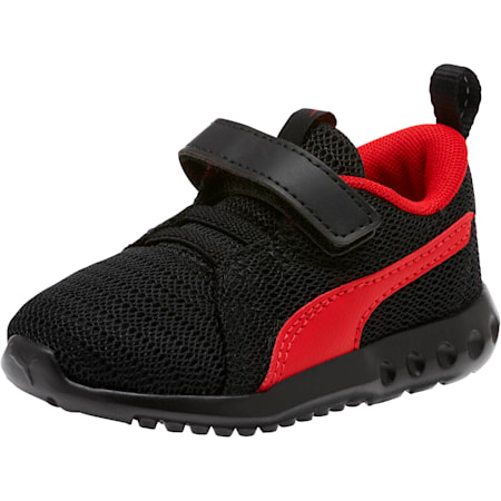 Carson 2 Toddler Shoes, Puma Black-High Risk Red, small