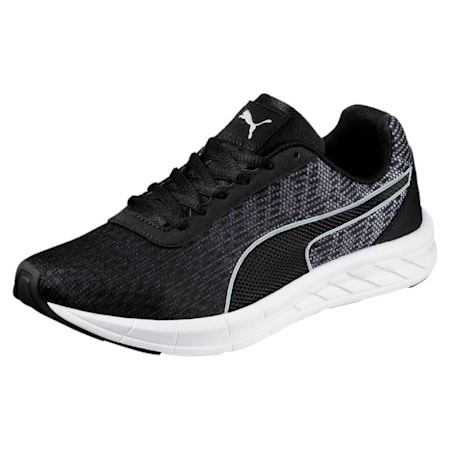 Comet Kids' Running Shoes, Quarry-Puma Black, small-IND