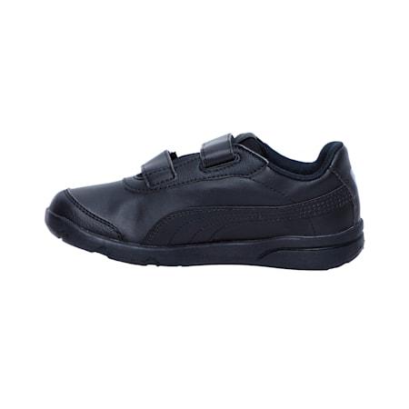 Stepfleex 2 SL V Kids' Trainers, Puma Black-Puma Black, small-SEA