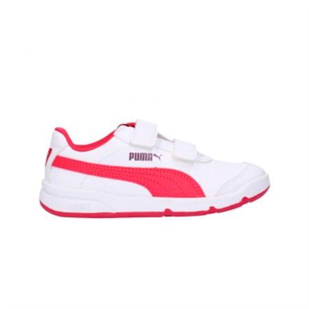 Stepfleex 2 SL Babies' Trainers, Puma White-Love Potion, small-GBR