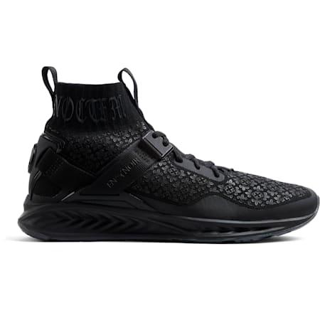 IGNITE evoKNIT En Noir Men's Training Shoes, Puma Black-Puma Black, small