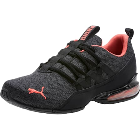Riaze Prowl Women's Training Shoes, Puma Black-Spiced Coral, small