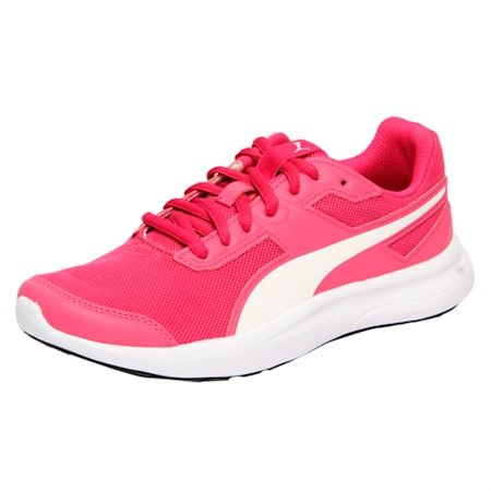 Escaper Mesh Kids' Shoes, Beetroot Purple-Puma White, small-IND