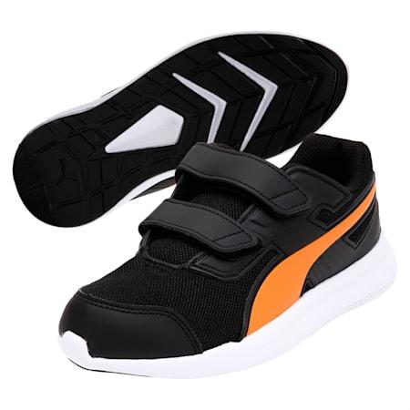 Escaper Mesh V Preschool Training Shoes, Puma Bk-Vibr Ora-Puma Blk, small-IND