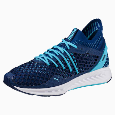 IGNITE NETFIT Women's Running Shoes, Blue Depths-Nrgy Turquoise, small-SEA