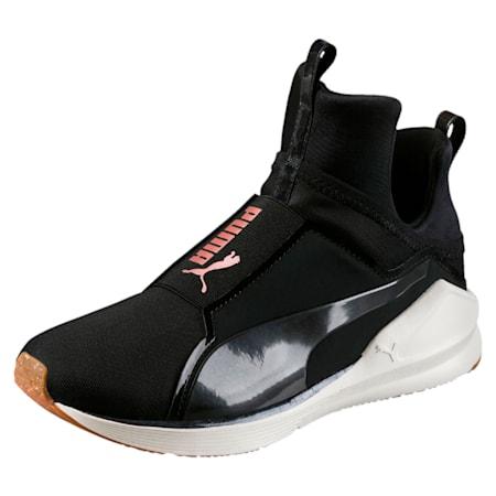 Fierce Velvet Rope Women's Training Shoes, Puma Black-Whisper White, small-IND