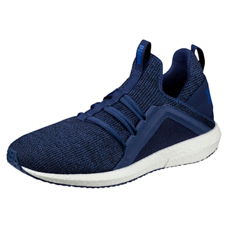 Mega NRGY Knit Men's Running Shoes, Blue Depths-Lapis Blue, small-IND