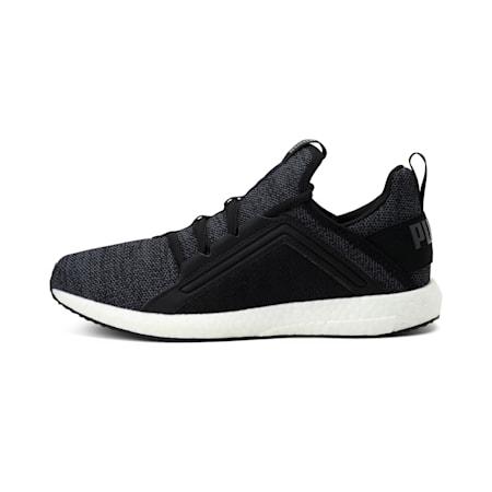 Mega NRGY Knit Women's Running Shoes, Puma Black-Asphalt, small-IND